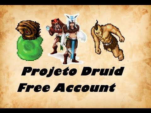 Projeto Druid Free Account #1 Dawnport Thais Caves Cyc Solo