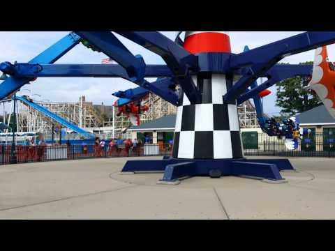 """AirPlane"" ride Luna Park Coney Island"
