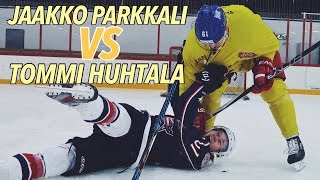 JAAKKO PARKKALI VS TOMMI HUHTALA