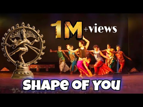 Shape Of You |  Indian Classical Version | Classical Dance Cover | Indian Raga | DRABIN