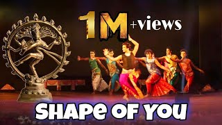 Shape of You | Indian Classical Version | Classical Dance Choreography | Indian Raga | DRABIN