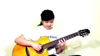 Liên Khúc Tình Đời & Kiếp Cầm Ca - Guitar Be Man( Virginia Nguyen)