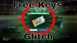 Get FREE keys with this new rocket league keys GLITCH