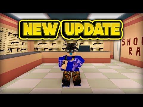NEW GUN & SHOOTING RANGE! (ROBLOX Jailbreak)