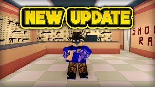 NEW GUN & SHOOTING RANGE! (ROBLOX Jailbreak)
