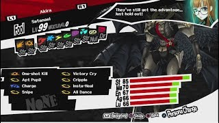 Persona 5 - Almighty And Gun Build For Satanael