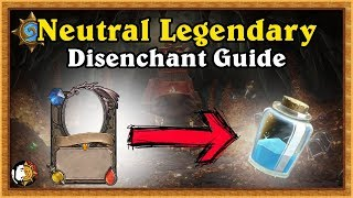 Hearthstone: Legendary Neutral Card Disenchant Guide - Kobolds & Catacombs Updated