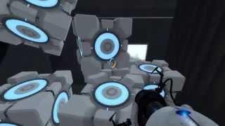 Прохождение тестовой камеры Титана Portal 2 'Камера 1'