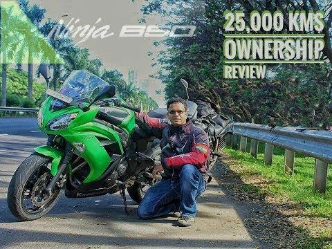 Kawasaki Ninja 650R: 25000 kms Ownership Review