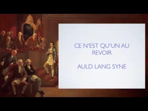 Glnfchannel Auld Lang Syne Ce N Est Qu Un Au Revoir Mes Freres