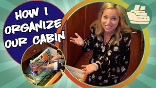 How I Organize Our Aft Balcony Stateroom on Carnival
