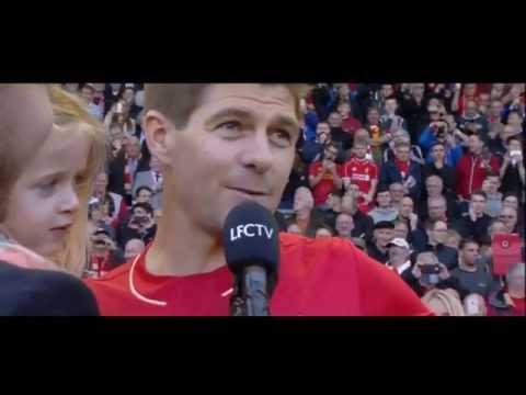 Steven Gerrard's farewell speech at Anfield