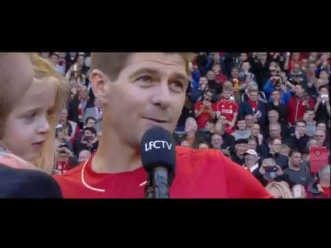 Steven Gerrard's farewell speech at Anfield