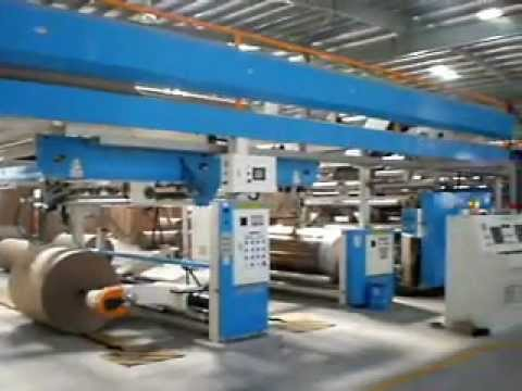 5ply Corrugated Cardboard Production Line | Corrugated