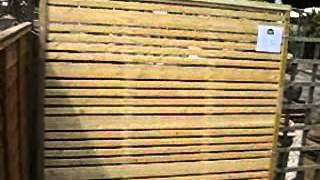 Modern Fence Panels