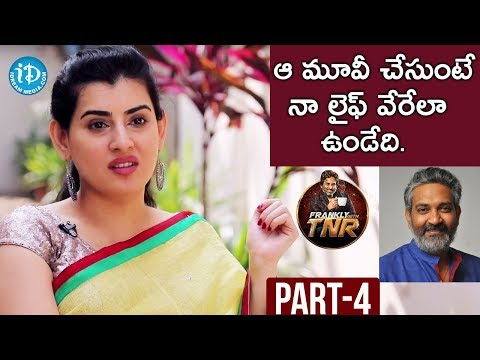 Actress Archana Exclusive Interview Part #4 | Frankly With TNR | Talking Movies with iDream
