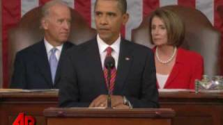 Obama Heckled by GOP During Speech to Congress