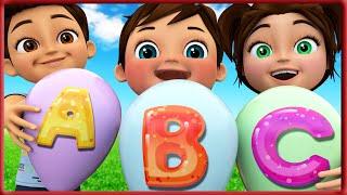 ABC Song   Learn ABC Alphabet for Children   Education ABC Nursery Rhymes   Banana Cartoon