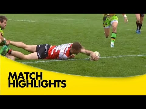 Gloucester Rugby V Northampton Saints - Aviva Premiership Rugby 2017-18