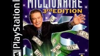 Who Wants to Be a Millionaire 3rd Edition PlayStation game #1