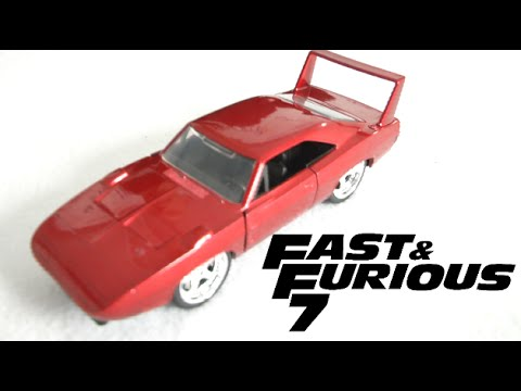 Furious 7 Die Cast Cars From Jada Toys Youtube