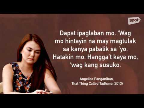 10 LDR Hugot Lines From Pinoy Movies - YouTube