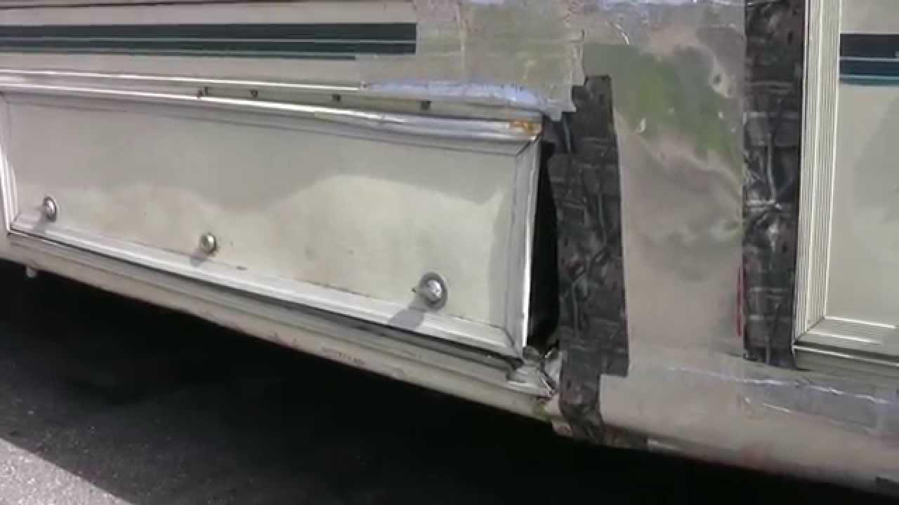 Rv Accident Body Damage Repair Youtube