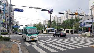 [대양운수] 동두천시 시내버스 3번 (동두천터미널.롯데…