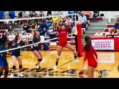 Alexandra Lopez #4 ( Setter Class 2021) Cardinal Mooney Catholic High School- Coach Chad Sutton