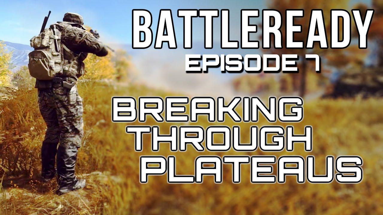 how to break through a plateau