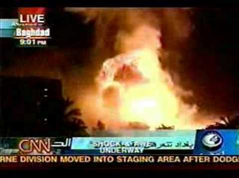 WAR Aviation - Shock & Awe Bombing Of Baghdad - Operation Ir