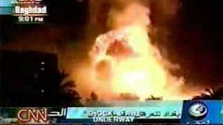 WAR Aviation - Shock & Awe Bombing Of Baghdad - Operation Ir