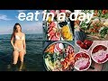 WHAT I EAT IN A DAY SUMMER 2018   Healthy & Quick
