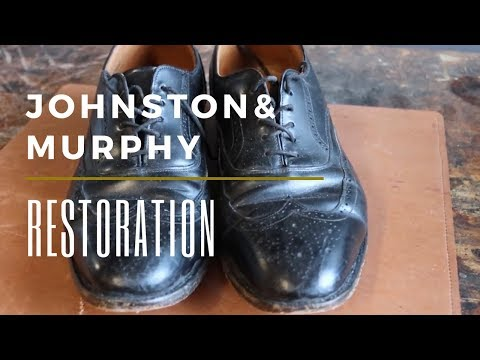Johnston and Murphy Shoe Restoration