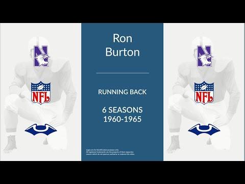 Ron Burton: Football Running Back