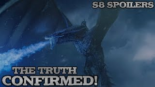 Viserion Leak | Game of Thrones Season 8 Spoilers | The Truth about the Ice Dragon & More!