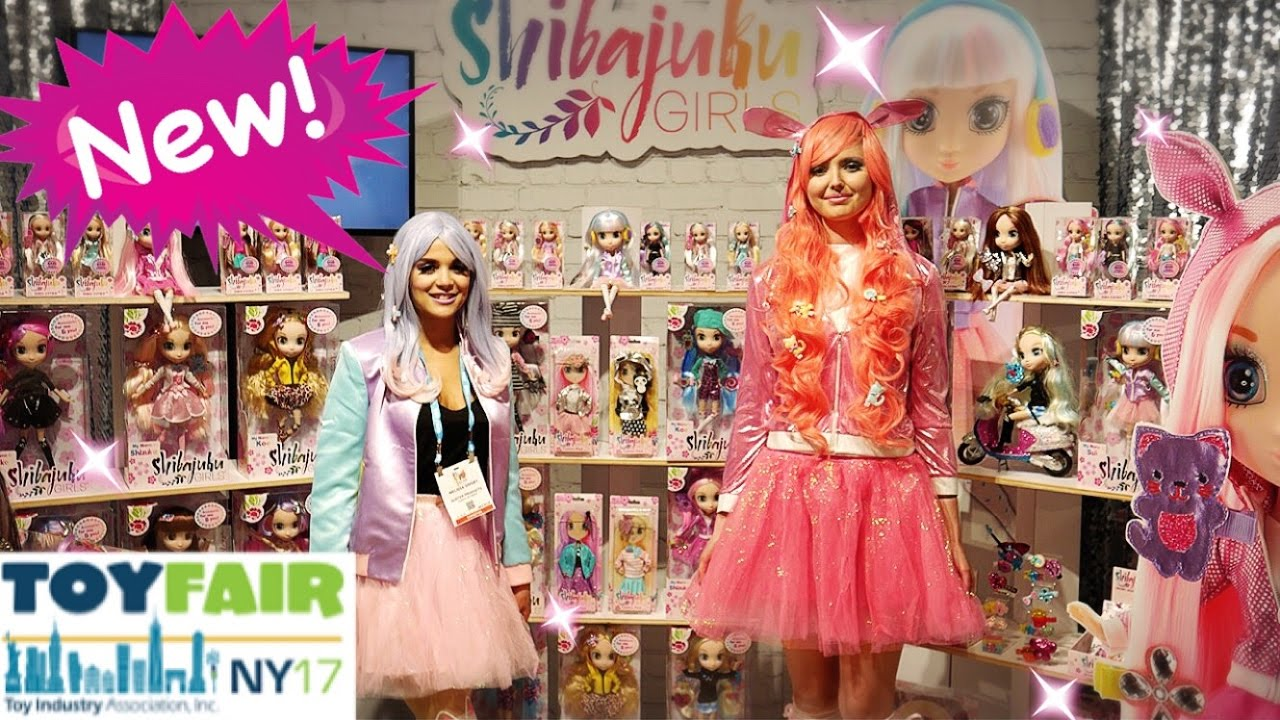 NEW SHIBAJUKU DOLLS FOR 2017 at TOY FAIR 2017
