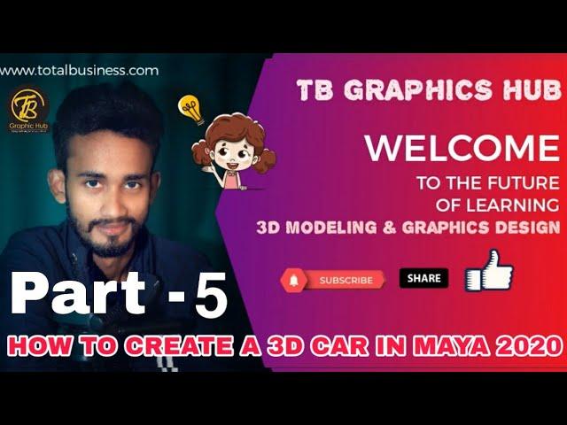 3D Car Modeling-Part-5