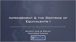 Lecture 14 - Doctrine of Equivalents 1