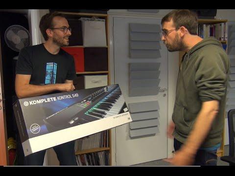 Preview du Komplete Kontrol S49 de Native Instruments