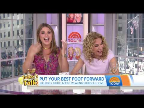 Jenna Bush Hager Says Grandma Barbara Bush Is Missing Toes