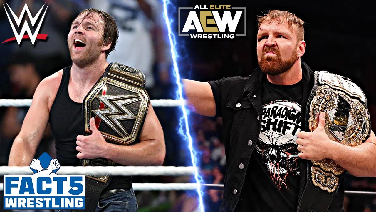 5 WWE Wrestlers Who LEFT For AEW