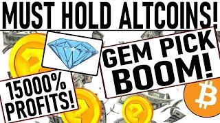+15000% PROFIT ALTCOIN PICKS! PARABOLIC GEM PICK! SET FOR LIFE PICKS! IOTA READY TO BANG!!