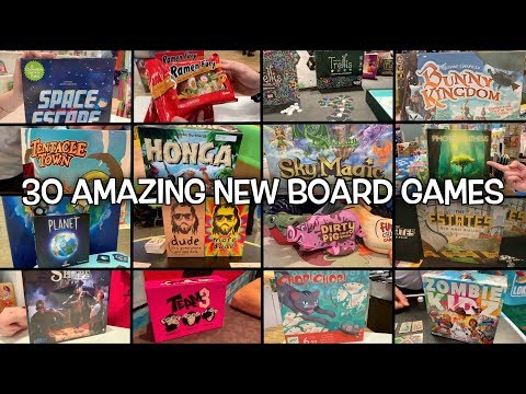30 Amazing Board Games Not To Miss In 2019