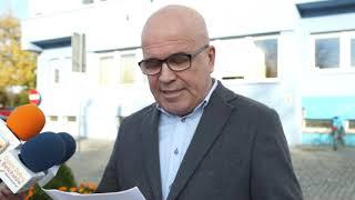 Marek Chrzanowski czyta list otwarty do prezydent Marioli Czechowskiej