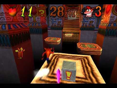 Crash Bandicoot 3: Warped (NTSC Version). Como conseguir os cristais extras?