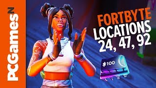Fortnite Fortbyte guide - Numbers #24, #42 and #92