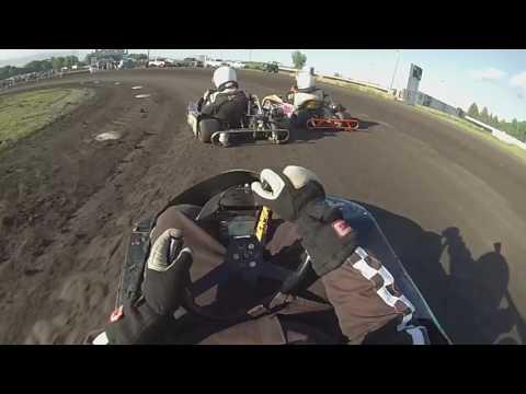 Arlington Raceway Minnesota 5-27-17 Stock Go-Kart class