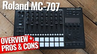 Roland MC-707 - My first look!