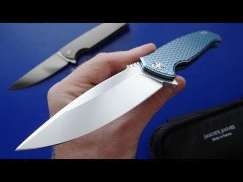 Дорогой, качественный, складной Российский нож! Sander Limited Phantom